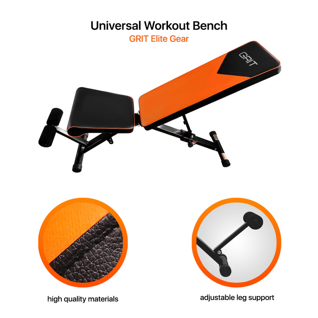 Workout Bench Features